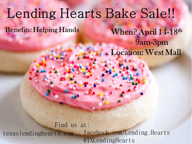 Spring Bake Sale!